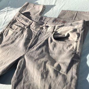 7famk silver jeansL32